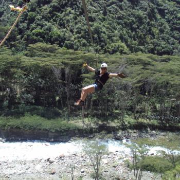Canopy tijdens de Inca Jungle Trekking
