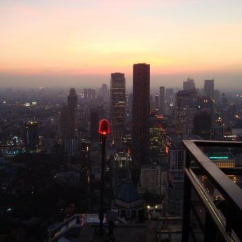 Uitzicht Banyan Tree Hotel bangkok - Rooftop bar