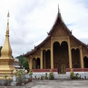 Wat Saen, een tempel in Luang Prabang