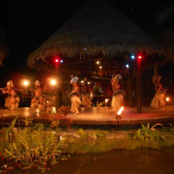 Island Night bij Te Vara Nui