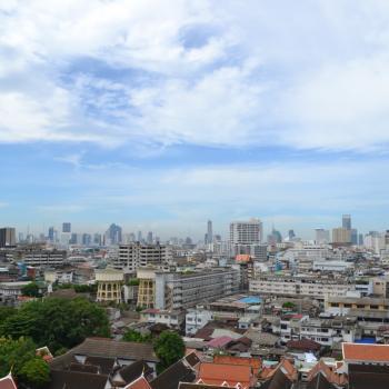 bangkok uitzicht golden mountain