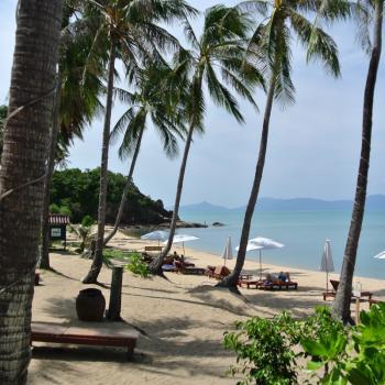 Strand op Koh Samui
