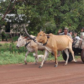 Vriendelijk bevolking in Cambodja
