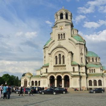 De kathedraal van Alexander Nevsky in Sofia