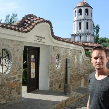 De prachtige oude stad in Plovdiv