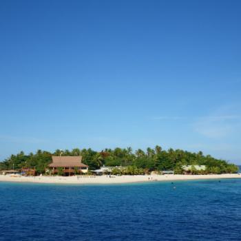 Een van de vele mooie eilandjes