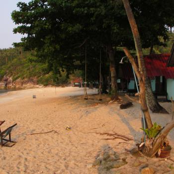 Bottle beach (Koh Phangan): alleen per boot bereikbaar