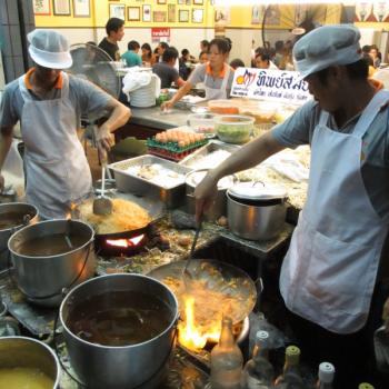 Thip Samai, legendarische pad thai tent in Bangkok