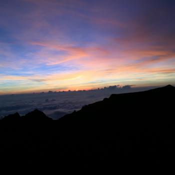 Zonsopgang, Mount Kinabalu
