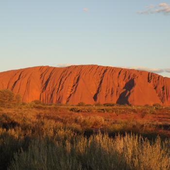 Uluru bij zonsopgang!