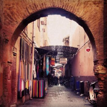 de Souks in Marrakech