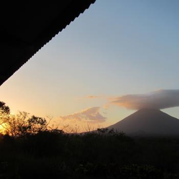 Prachtig uitzicht op vulkaan Concepción op Isla Ometepe.