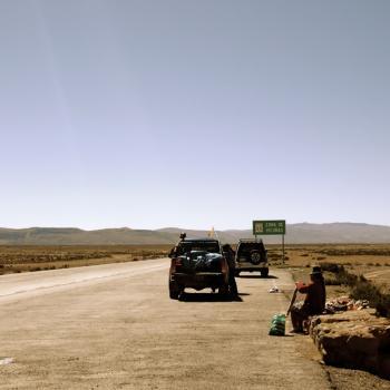 Op weg naar de Colca Canyon