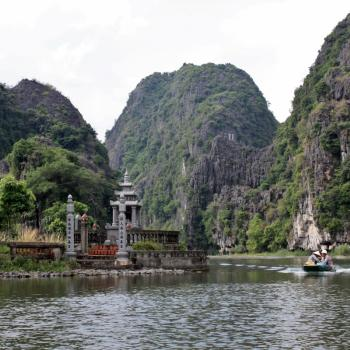 Halong bay, maar dan anders in Ninh Binh