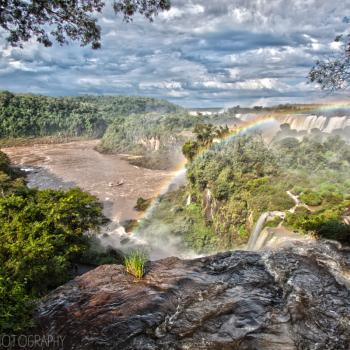 Somewhere over the rainbow... Watervallen van Iguaçu