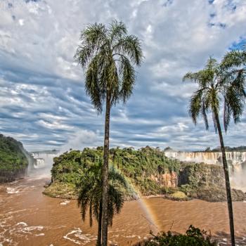 Somewhere over the rainbow... Watervallen van Iguaçu