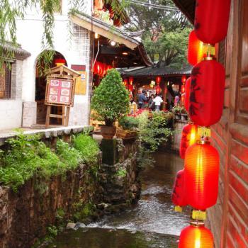Old town & lampionnen (Lijiang)