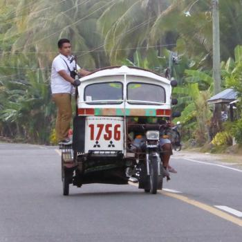 Tricycle in SiquijorTricycle in Siquijor