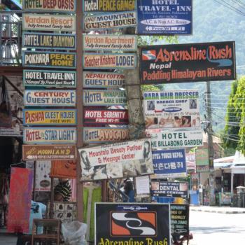 keuze genoeg in Pokhara