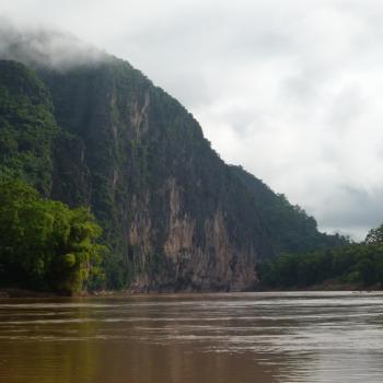 Vanaf de Mekong rivier