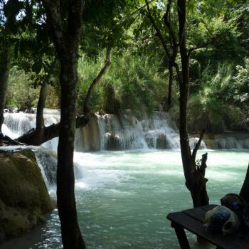 Watervallen bij Luang Prabang