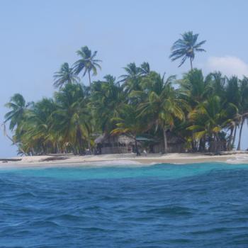 een mini-eilandje