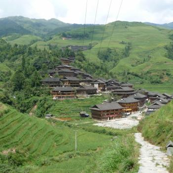 Rice terraces near Kunming