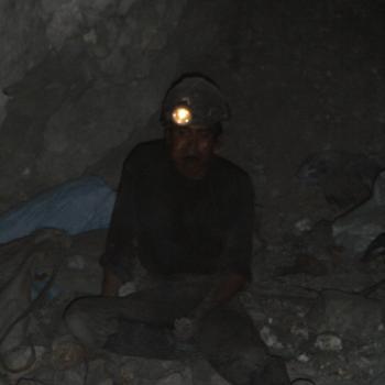Potosi, mijnwerker