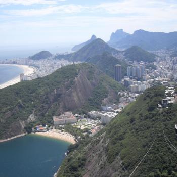 Uitzicht op Rio de Janeiro vanaf de Sugarloaf