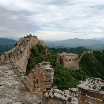 Hike over Chinese Muur Simatai (Beijing)