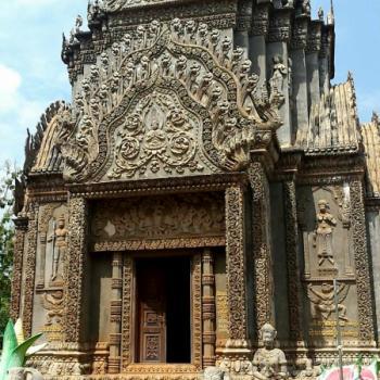 Tempel in Kampong cham