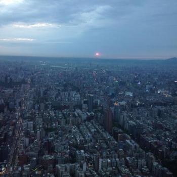 Taipei vanaf de Taipei 101