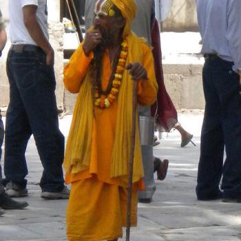 Holyman in Kathmandu