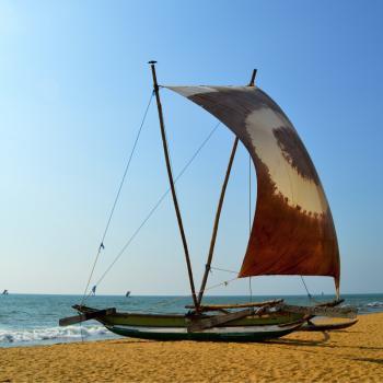 Golden beach Negombo