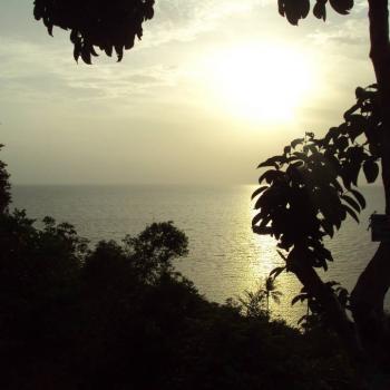 Zonsondergang in Koh Phangan