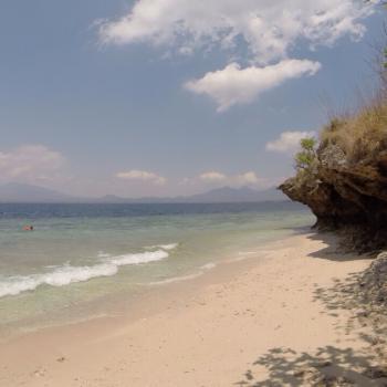 Eiland Nusa Menjangan ten noorden van Bali