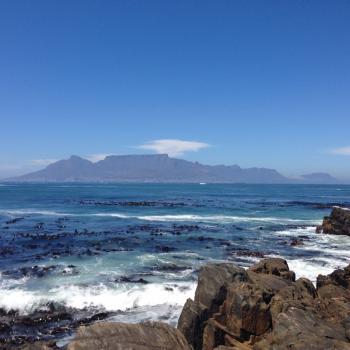 Tafelberg vanaf Robbeneiland
