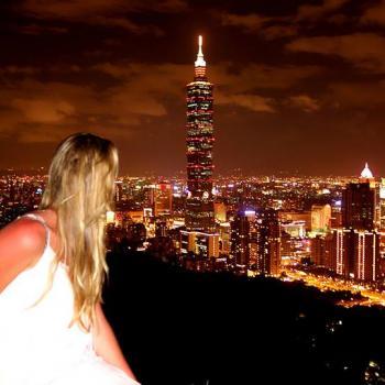 Elephant Mountain met uitzicht over de hele stad