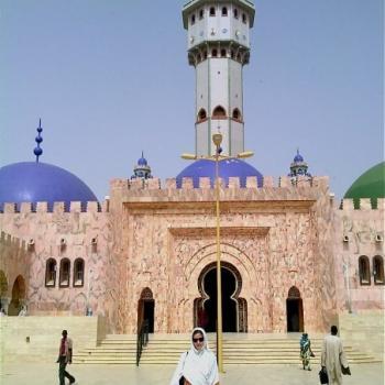 De moskee in Touba