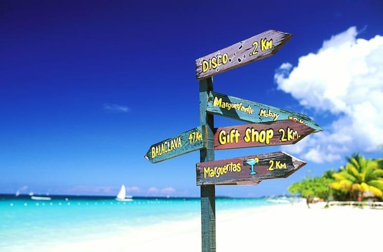 Jamaica stranden