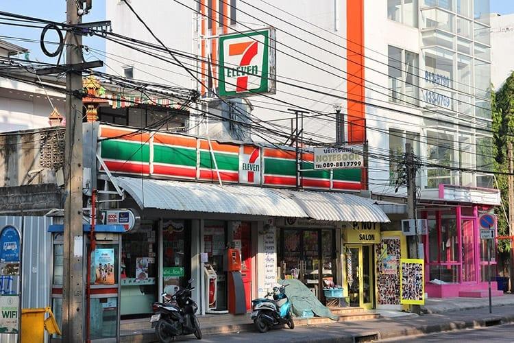 Bangkok, 7-eleven