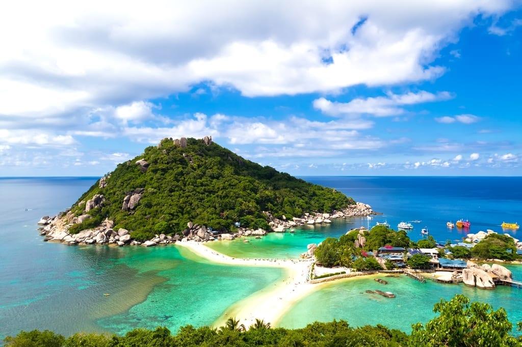 Thailand - koh nang yuan bij Koh Tao