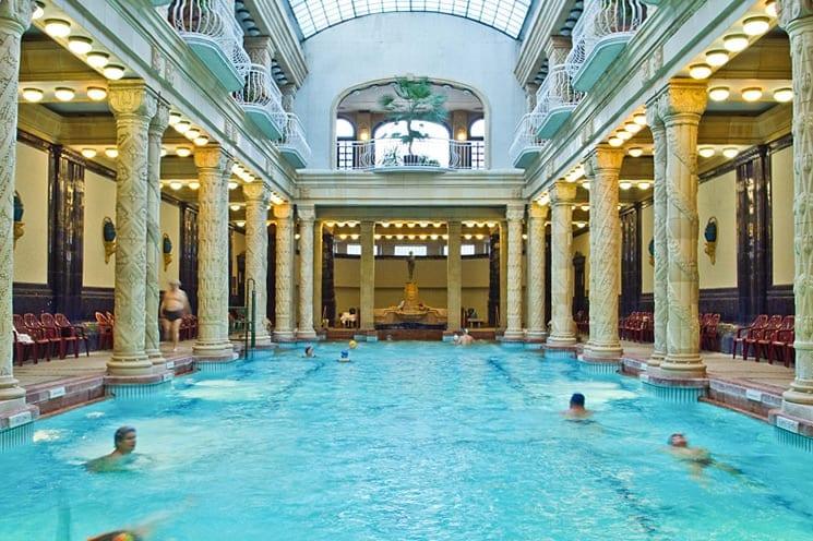 Gellért baden, Boedapest, Hongarije