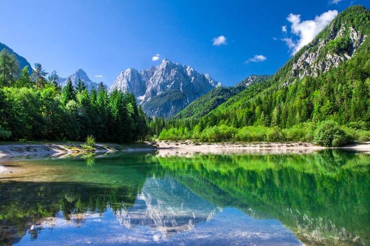 Triglav National Park, Slovenië