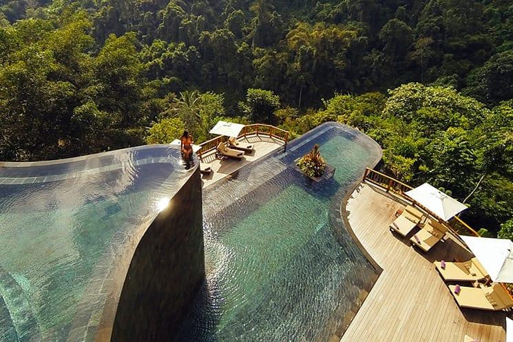 De 11 mooiste zwembaden ter wereld 27 for Unusual accommodation bali
