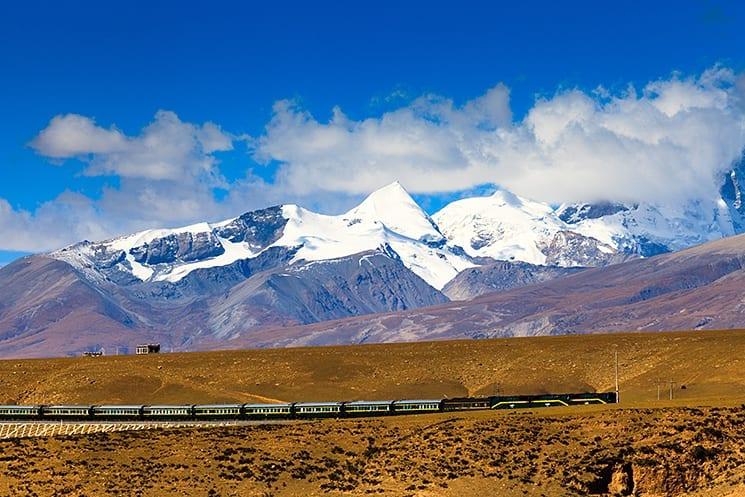 Reizen in Tibet