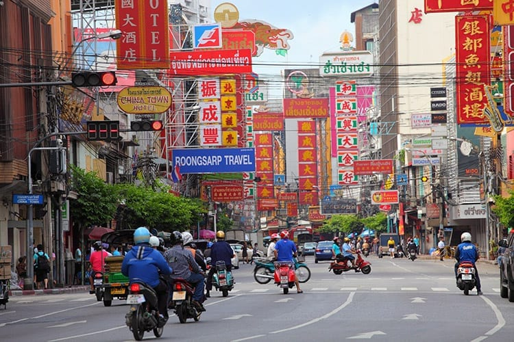 Yaowarat Road, Chinatown