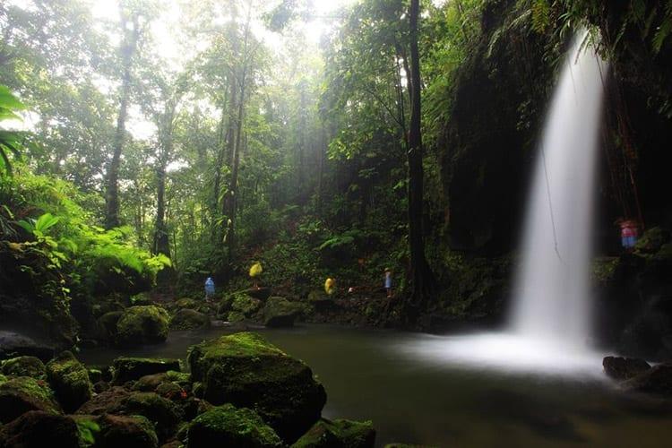 Dominica, Emerald pool