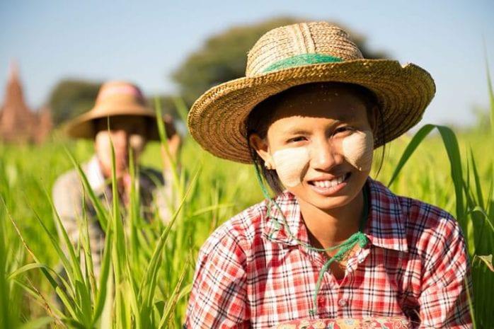 De vriendelijke bevolking van Myanmar