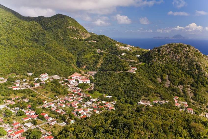 Saba, Nederlandse Antillen